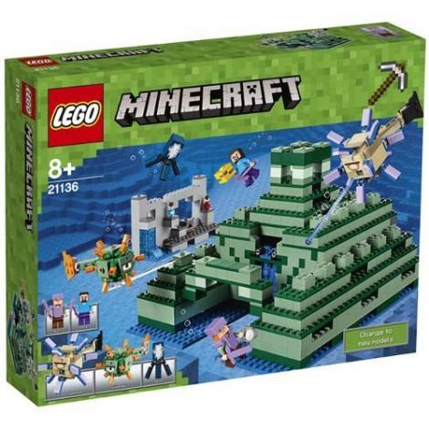 Imagine 1LEGO Minecraft Monumentul din Ocean