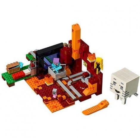 Imagine 2LEGO Minecraft Portalul Nether