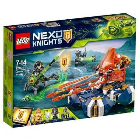 Imagine 1LEGO Nexo Knights Motocicleta Planor a lui Lance