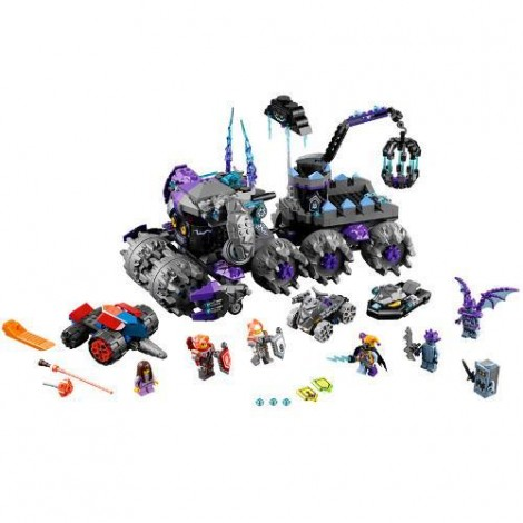 Imagine 2LEGO Nexo Knights Sediul Central al lui Jestro