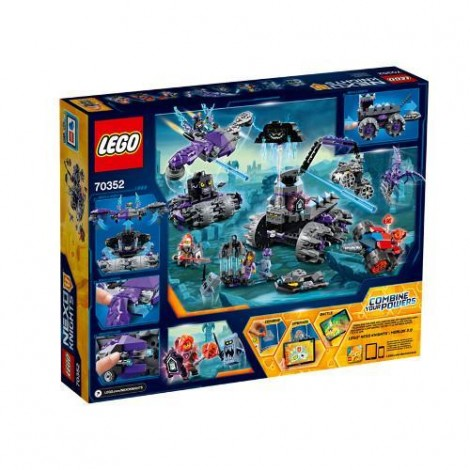 Imagine 3LEGO Nexo Knights Sediul Central al lui Jestro