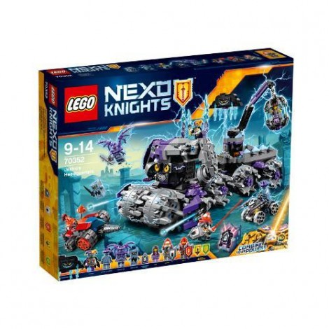 Imagine 1LEGO Nexo Knights Sediul Central al lui Jestro