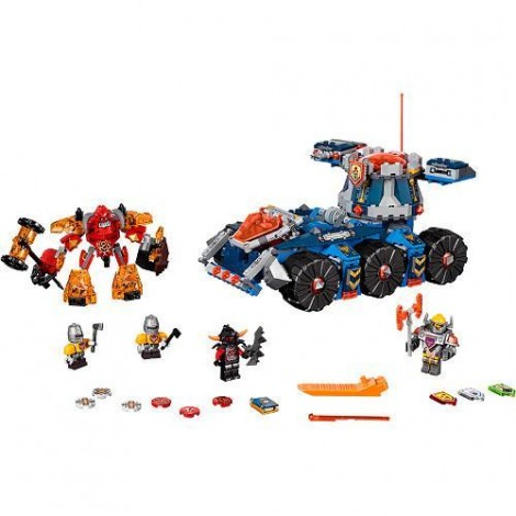 Imagine 2LEGO Nexo Knights Transportorul lui Axl