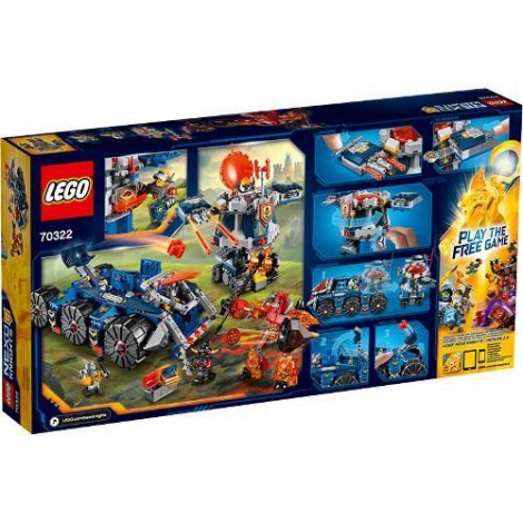 Imagine 3LEGO Nexo Knights Transportorul lui Axl