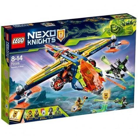 Imagine 1LEGO Nexo Knights X-Arcul lui Aaron