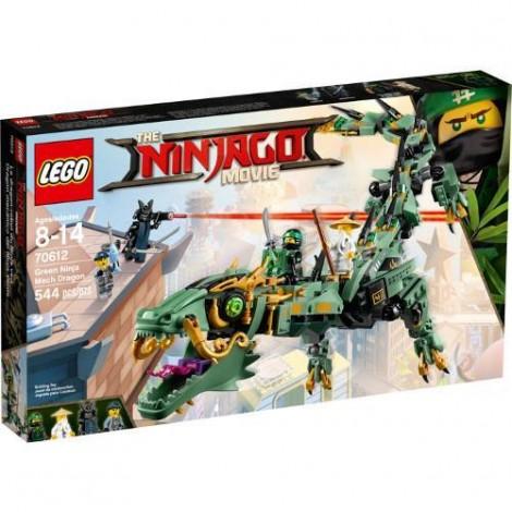 Imagine 1LEGO Ninjago Movie Green Ninja Mech Dragon