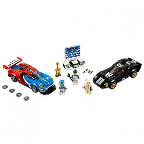 Imagine 2LEGO Speed Champions Ford GT 2016 & Ford GT40 1966