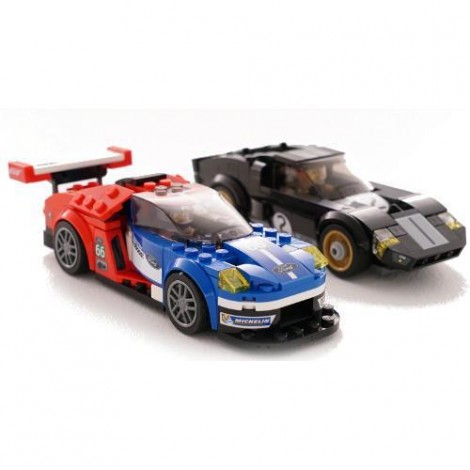 Imagine 3LEGO Speed Champions Ford GT 2016 & Ford GT40 1966