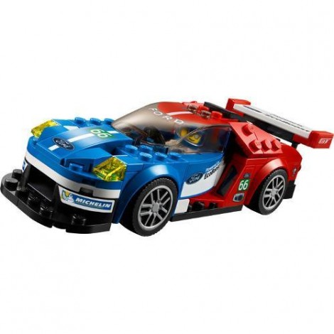 Imagine 4LEGO Speed Champions Ford GT 2016 & Ford GT40 1966
