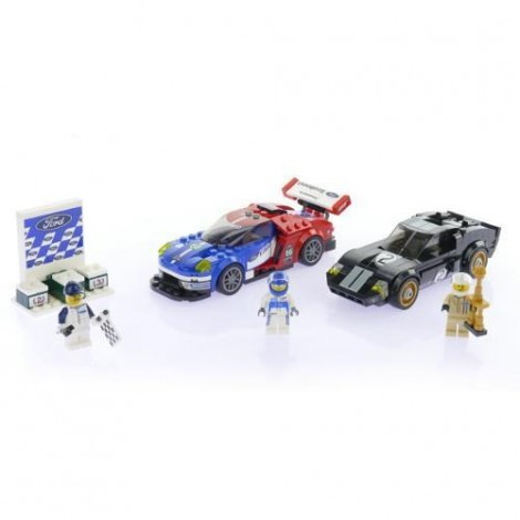 Imagine 5LEGO Speed Champions Ford GT 2016 & Ford GT40 1966