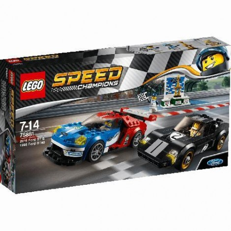 Imagine 1LEGO Speed Champions Ford GT 2016 & Ford GT40 1966