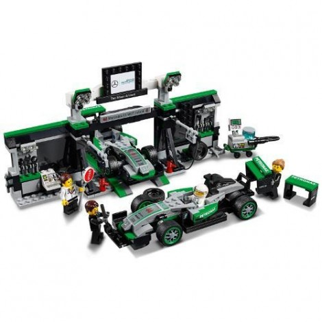 Imagine 2LEGO Speed Champions Mercedes AMG Petronas Formula One Team