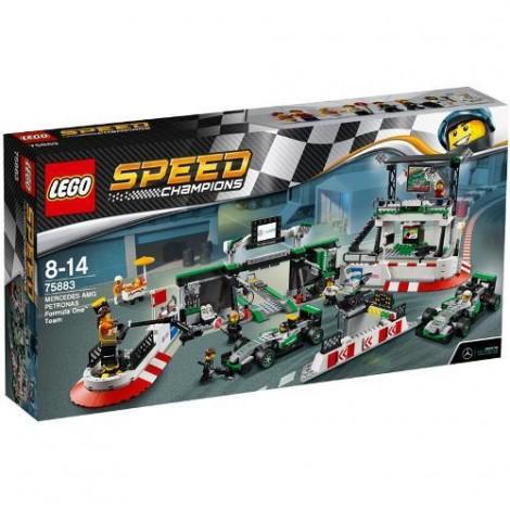 Imagine 1LEGO Speed Champions Mercedes AMG Petronas Formula One Team