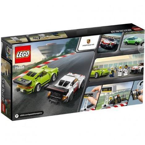 Imagine 3LEGO Speed Champions Porsche 911 RSR si 911 Turbo 3.0
