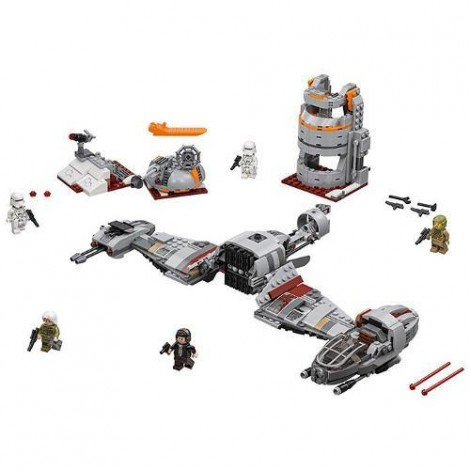 Imagine 2LEGO Star Wars Apararea Planetei Crait