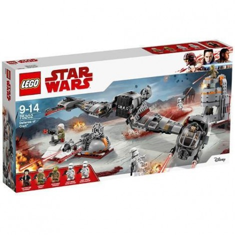 Imagine 1LEGO Star Wars Apararea Planetei Crait