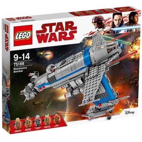 Imagine 1LEGO Star Wars Bombardier al Rezistentei