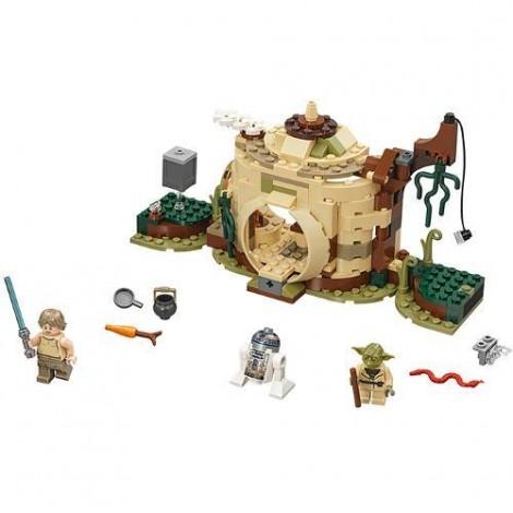 Imagine 2LEGO Star Wars Coliba lui Yoda