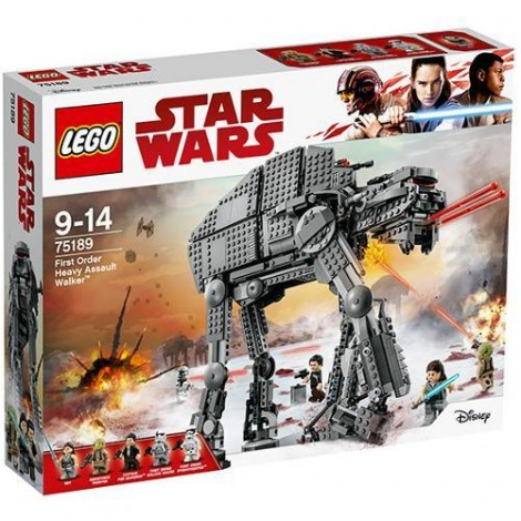 Imagine 1LEGO Star Wars Heavy Assault Walker al Ordinului Intai