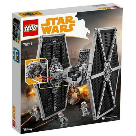 Imagine 5LEGO Star Wars Imperial TIE Fighter