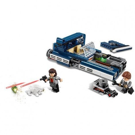 Imagine 4LEGO Star Wars Landspeeder-ul lui Han Solo
