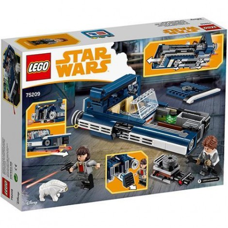 Imagine 6LEGO Star Wars Landspeeder-ul lui Han Solo