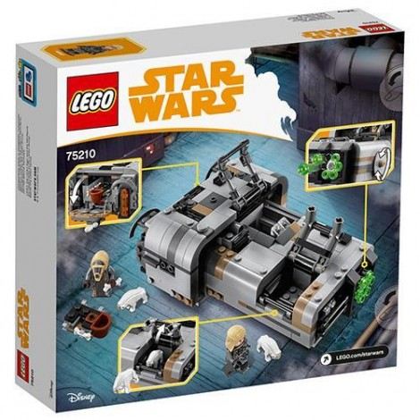 Imagine 6LEGO Star Wars Landspeeder-ul lui Moloch