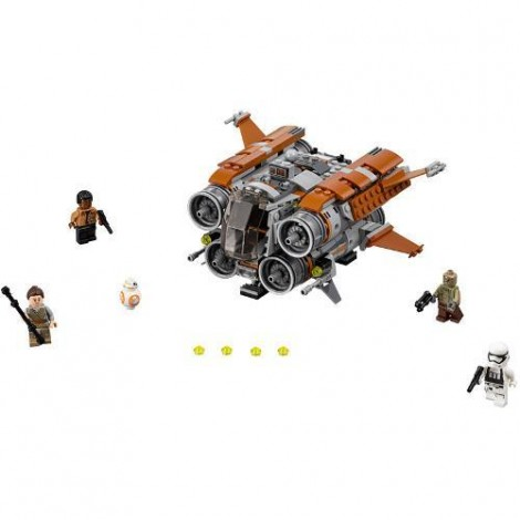 Imagine 2LEGO Star Wars Quadjumper Jakku