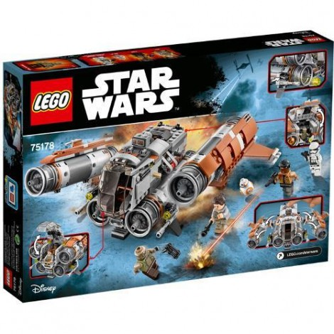 Imagine 3LEGO Star Wars Quadjumper Jakku