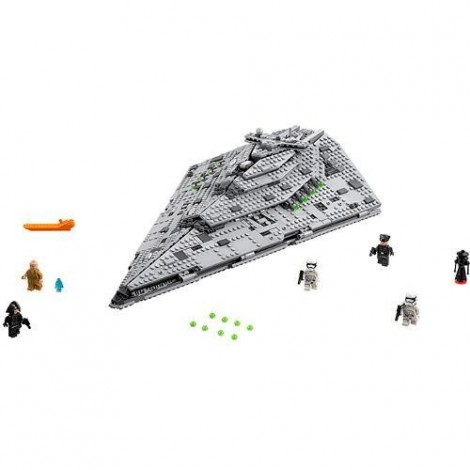 Imagine 2LEGO Star Wars Star Destroyer al Ordinului Intai