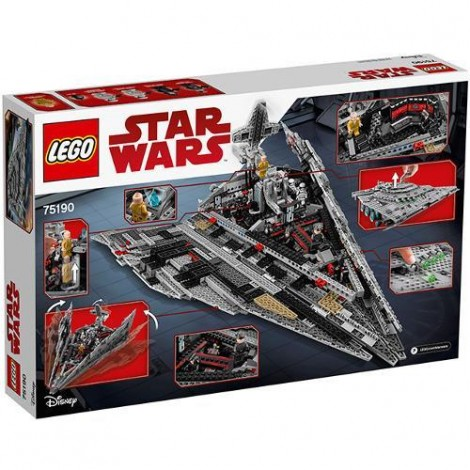 Imagine 3LEGO Star Wars Star Destroyer al Ordinului Intai
