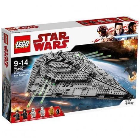 Imagine 1LEGO Star Wars Star Destroyer al Ordinului Intai