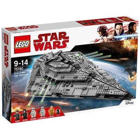 Imagine 1LEGO Star Wars Star Destroyer al Ordinului Intai