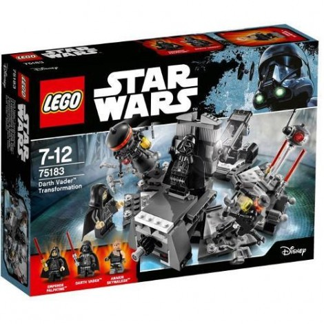 Imagine 1LEGO Star Wars Transformarea Darth Vader