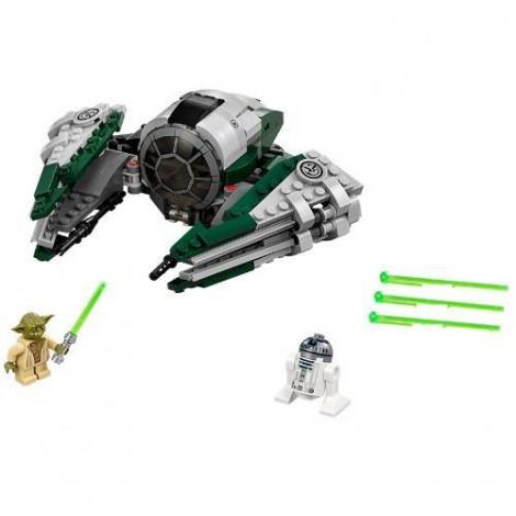 Imagine 2LEGO Star Wars Yoda's Jedi Starfighter