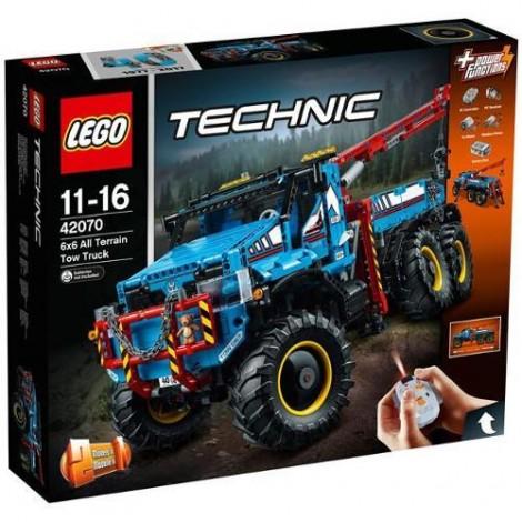 Imagine 1LEGO Technic Camion de Remorcare 6x6
