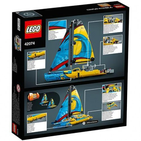 Imagine 3LEGO Technic Iaht de Curse