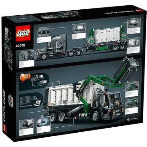 Imagine 8LEGO Technic Mack Anthem