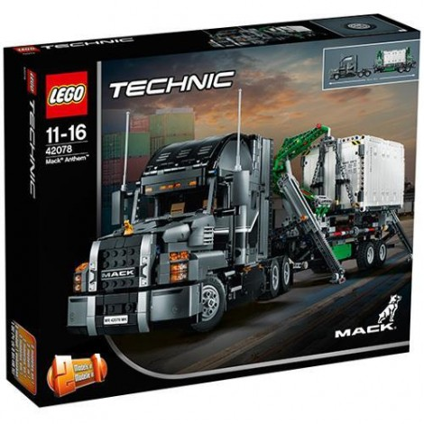 Imagine 1LEGO Technic Mack Anthem