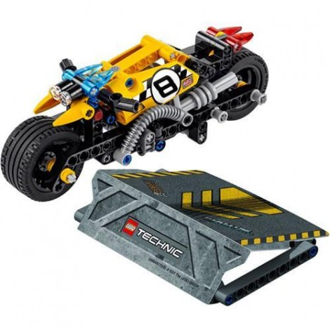 Imagine 2LEGO Technic Motocicleta de Cascadorie