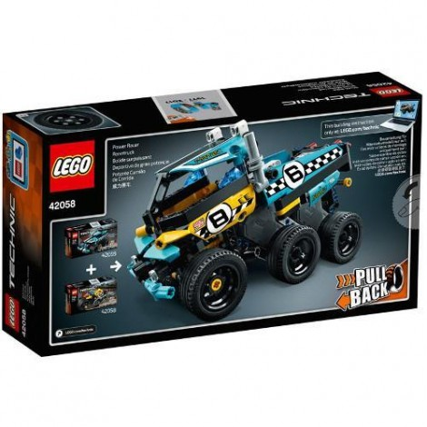 Imagine 3LEGO Technic Motocicleta de Cascadorie