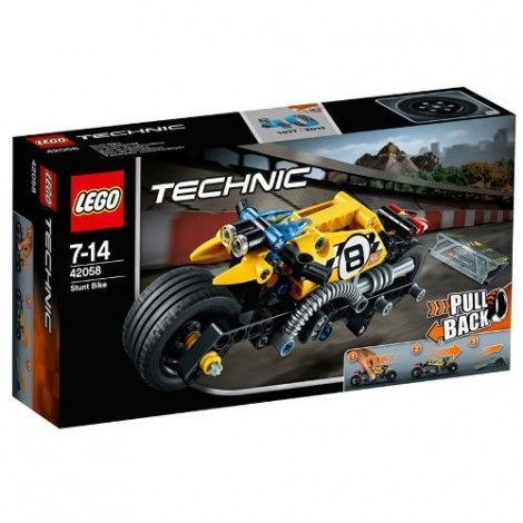 Imagine 1LEGO Technic Motocicleta de Cascadorie