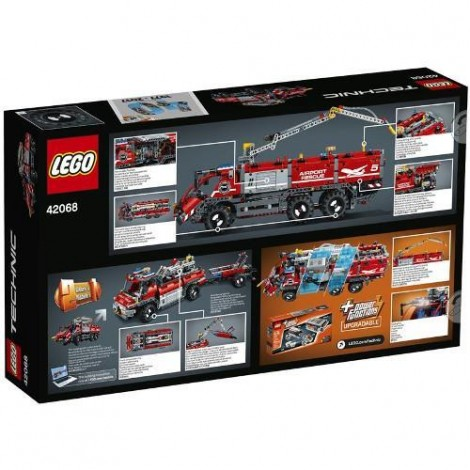 Imagine 3LEGO Technic Vehicul de Pompier