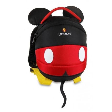 Imagine 1Rucsac copii cu ham detasabil Disney Mickey