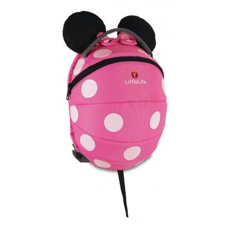 Imagine 1Rucsac mare pentru copii Disney Minnie Pink