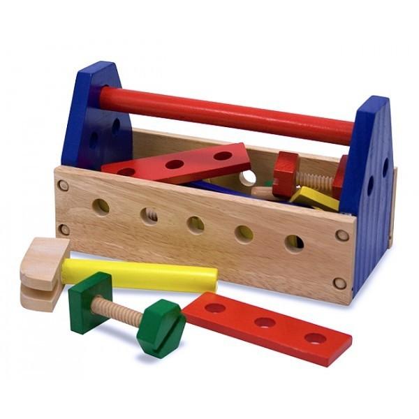 Ladita din lemn cu scule