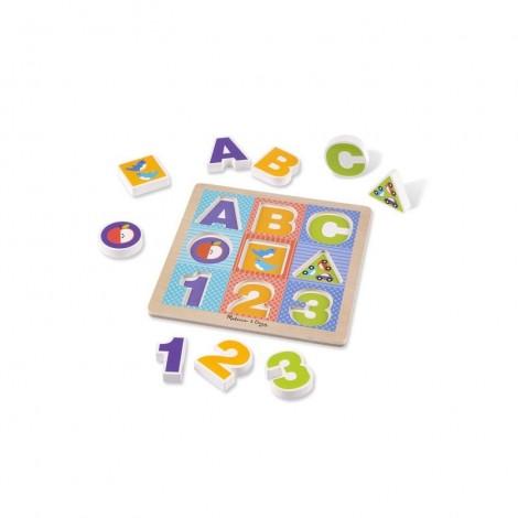 Imagine 1Puzzle cu piese mari pentru belelusi