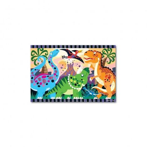 Imagine 1Puzzle de podea Inceputurile dinozaurilor