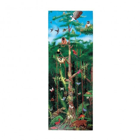 Imagine 1Puzzle de podea Padurea Tropicala 100 pcs