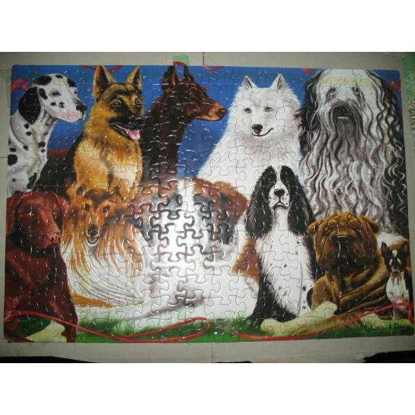 Puzzle 200 piese Prieteni cu blanita